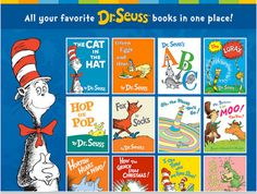 A Collection of The Best Interactive Digital Storybooks by Dr. Seuss ~ Educational Technology and Mobile Learning