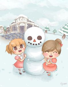Animal Crossing Winter