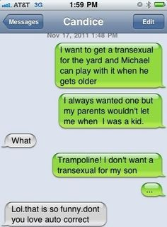 Funny, auto correct texts, funny text messages, funny texts, fail t Funny Texts Crush, Funny Text Fails, Funny Text Messages, Funny Jokes, 9gag Funny, Memes Humor, Funny Sms, Humor Quotes, Funny Minion