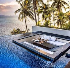 20+ Breathtaking Lounge Area or Bedroom with The Pool Surround