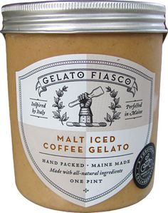 Gelato Fiasco Malt Iced Coffee