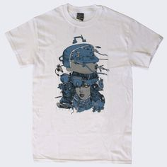Katsuya Terada x Giant Robot - Hot Pot Girls II T-shirt (White) – GiantRobotStore