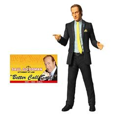 Breaking Bad Saul Goodman 6-Inch Action Figure $15.99