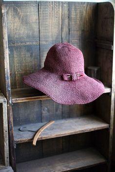 Plum hat