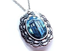 #TARDIS Necklace