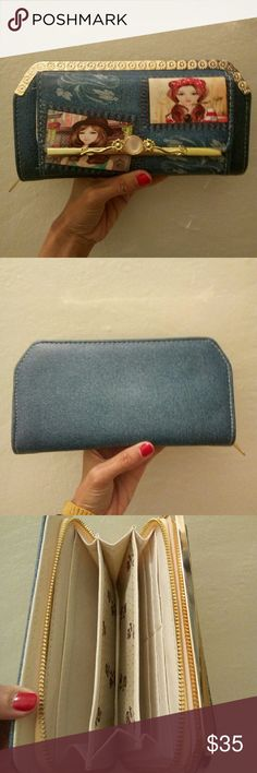 Gorgeous Wallet Very roomy.  Brand new. Bags Wallets