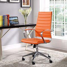 office orange. jive highback office chair orange