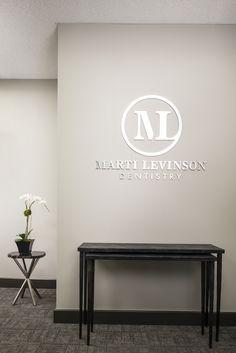 Dentist office entry. Design // Austin Bean Design Studio