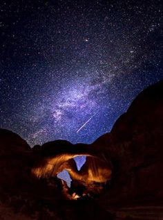 Wadi Rum Stars/ #Jordan : One of the most beautiful places to be at night! visit it and enjoy a nice stay with www.gweet.com
