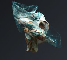 Gorgeous Sculptures Float in Digital Space   The Creators Project