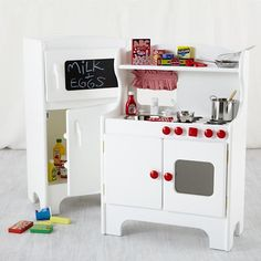 Land Of Nod Kidsu0027 Imaginary Play: Kids Kitchen Appliances Set