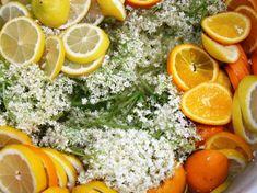 Holunderblüten Sirup Rezept für Hollersaft. Was gibt es schöneres als einen erfrischenden Holundersaft im Sommer? Restaurantleiter Stefan von der Thermenwelt Hotel Pulverer verrät Rezept, Zubereitung und so manche Tipps.