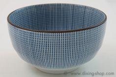 Porzellan Schale Japan Tokusa Sanden Teeschale Muslischale Obstschale tea bowl