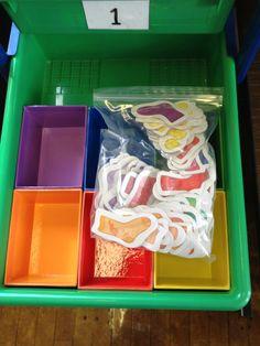 The Autism Tank: Classroom Tour: Reading/Math Centers