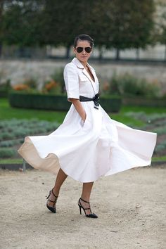 Street Style: Paris Fashion Week Spring 2014 - Tina Leung