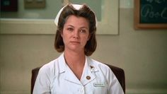 "One Flew Over the Cuckoo´s Nest; The sexually-repressed, domineering Nurse Ratched was turned down by five actresses until Louise Fletcher accepted the role a week before filming. Fletcher learned sign language at a young age, as both of her parents were deaf. When she neared the end of her Oscar acceptance speech,she finished with a unique touch in Sign Language: ""For my mother and my father, I want to say thank you for teaching me to have a dream. You are seeing my dream come true. Thank…"