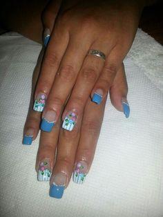 Uñas Nails, Beauty, Fingernail Designs, Art, Finger Nails, Ongles, Beauty Illustration, Nail, Nail Manicure