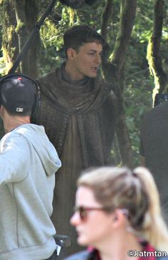 """Giles Matthey as Morpheus - Behind the scenes - 6 * 1 """"The Saviour"""" - 18th July 2016"""