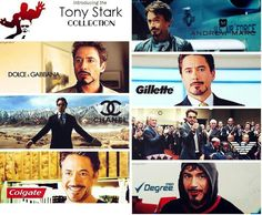 Introducing the Tony Stark Collection