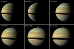 Les tempêtes géantes de Saturne : une histoire d'eau