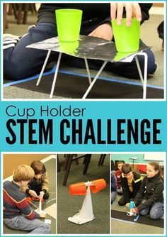 Cup Holder STEM Challenge More