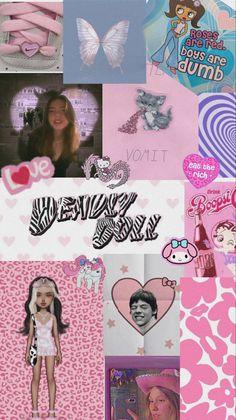y2k wallpaper collage .。.:*☆