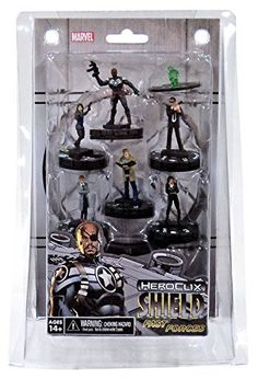 HeroClix Marvel: Nick Fury, Agent of SHIELD Fast Forces (6 Piece Pack)