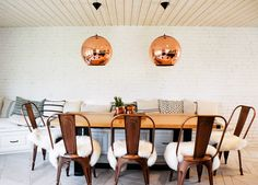 In this family's Huntington Beach house, designed by Leanne Ford, there are spunky details around every corner
