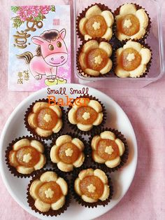 I finally start my CNY baking yesterday! I am very happy because I am invited by SCS butter to try out and feature some of their newly cre. Nut Recipes, Baking Recipes, Sweet Recipes, Dessert Recipes, Pineapple Cookies, Pineapple Tart, Biscuit Bar, Biscuit Recipe, Mini Tartlets