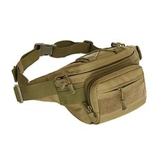 Molle Equipment Military Tactical Waist Pouch Outdoor Unisex Running Belt Bum Bag Travel Handy Hiking Fanny Pack for Women Men Nylons, Climbing Backpack, Big Backpacks, Assault Pack, Waist Pack, Nylon Bag, Luggage Bags, Backpack Bags, Travel Bag