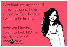 "advocare ecard :-D plus blog with tips on ""looking HOT"""