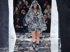 A Review of Rihanna's Fenty x Puma Show, as Told by Rihanna GIFs