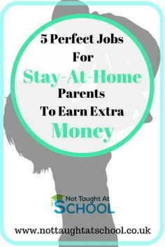 5 perfect jobs for stay at home parents which are easy to do. In our latest post, we share more ways that stay at home parents can earn money online today. Click here to see the full post.