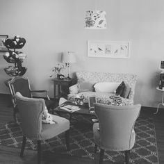 Sit back, relax, and spin us a yarn~ #blacksheepyarn #boutique #yarn #local #wool #crafts #vintage #classy #beautiful #furniture #Washington #pnw #WA #olympia #mymixx96