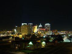 Oklahoma City Skyline - Night