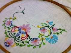 Hand Embroidery: Complete Beginners Guide Part 3- Learn Basic Stitches with Illustrations Part 2