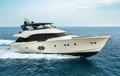 MCY 80 : Un yacht extrêmement séduisant.