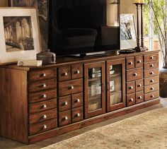 <3 <3 <3 this; just wish it was not quite so long! Printer's Eclectic Media Suite   Pottery Barn