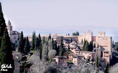 Alhambra- Granada. By Carmen Gila