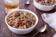 Make and share this Crock Pot Lentil and Sausage Soup recipe from Food.com.