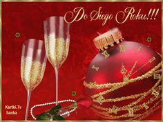 blingee do ściągnięcia Christmas Bulbs, Christmas Gifts, New Years Eve, Happy New Year, Alcoholic Drinks, Champagne, Holiday Decor, Tableware, Glass