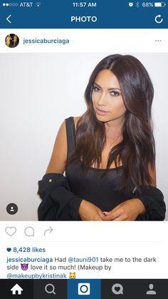 Jessica burciaga brown hair