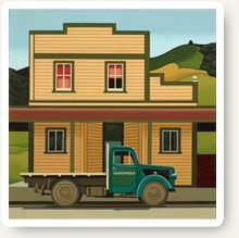 Art deco posters can be an excellent, retro addition to any modern home. New Zealand has a rich collection of art deco style art. Shop art deco prints now. Large Prints, Fine Art Prints, New Zealand Art, Nz Art, Wooden Buildings, Kiwiana, Vintage Posters, Art History, Robin