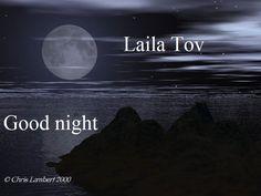 Good night in Hebrew :)