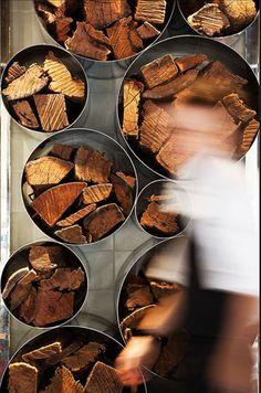 firewood display
