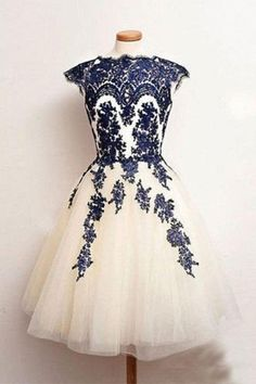 Custom Prom Dresses #CustomPromDresses, Prom Dresses 2018 #PromDresses2018, Prom Dresses White #PromDressesWhite, Navy Prom Dresses #NavyPromDresses, Blue Prom Dresses #BluePromDresses