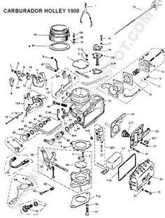 9 mejores im genes de carburacion autos porch y porsche 1966 Chevy Nova despiece holley 1 boca modelo 1908 ford falcon chevrolet 400 dodge 1500 renault trafic estanciera gladiator
