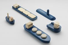 Permafrost presented new toys at the Norway show at London Design Festival. They were displaying a collection of wooden toys building on the them Baby Toys, Kids Toys, Up Auto, London Design Festival, Designer Toys, Wooden Boats, Wood Toys, Industrial Design, Oil Tanker
