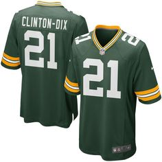 Ha Ha Clinton-Dix Green Bay Packers Nike Youth Team Color Game Jersey - Green