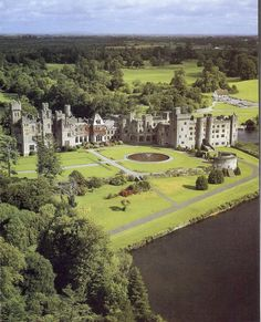 Ashford Castle, Ireland.  Great place to get married and honeymoon. Tina with Experience Travelin can help you.